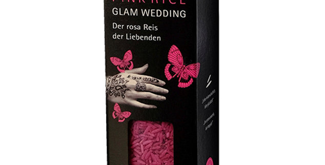 Riz rose glam wedding Bio Loto 300g