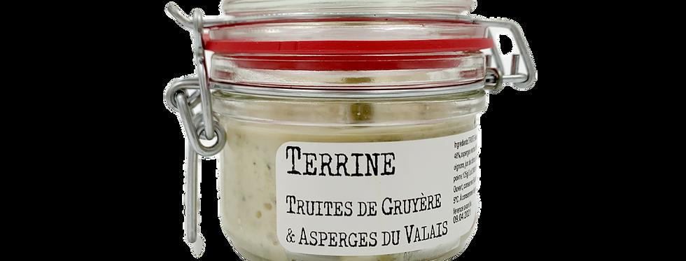 Terrine truite de Gruyère et asperges du Valais Chez Denis 115g