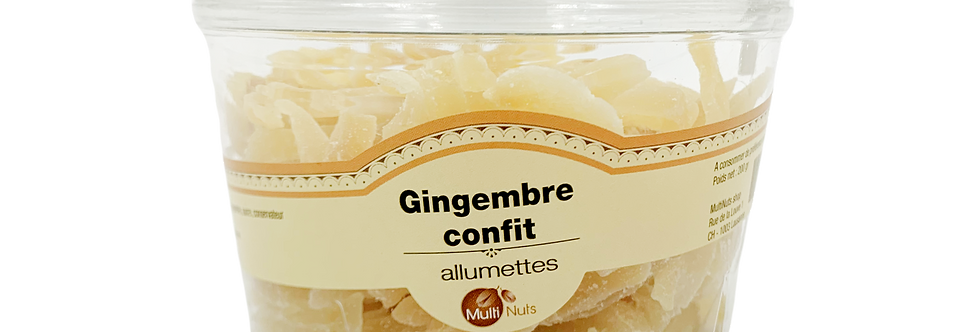 Gingembre confit Multinuts 200g