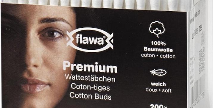 Coton-tiges Flawa 200pces
