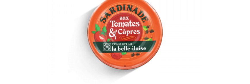 Sardinade aux tomates & câpres la belle-iloise 60g