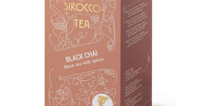 Thé black chai Sirocco 20 x 2.5g