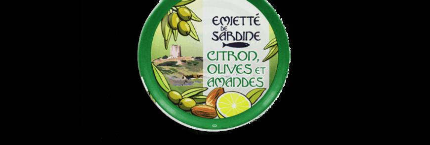 Émietté de sardine citron, olives et amandes la belle-iloise 80g