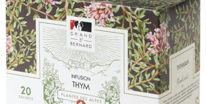Tisane BIO thym Grand-St-Bernard 20 sachets
