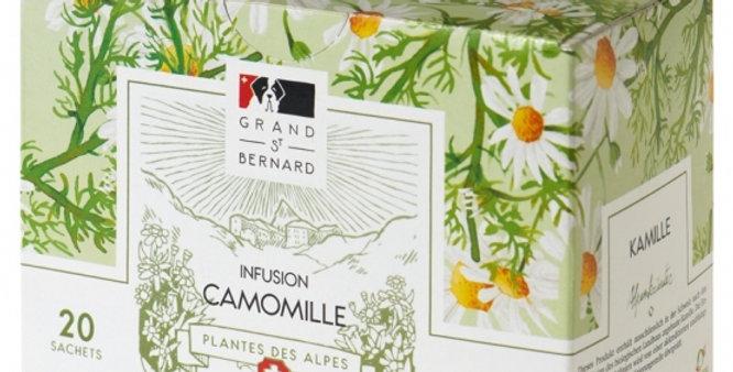 Tisane BIO camomille Grand-St-Bernard 20 sachets