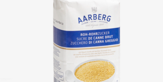 Sucre de canne brut Aarberg 1kg