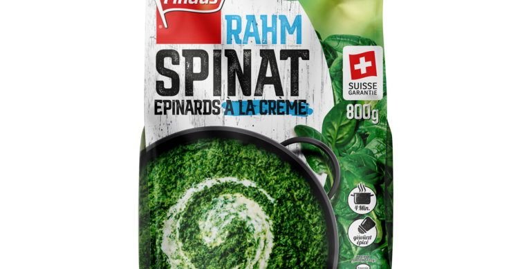 Epinards à la crème suisse garantie Findus 500g