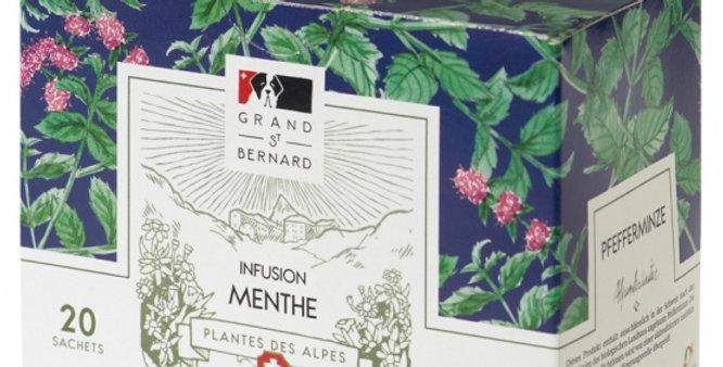 Tisane BIO menthe Grand-St-Bernard 20 sachets
