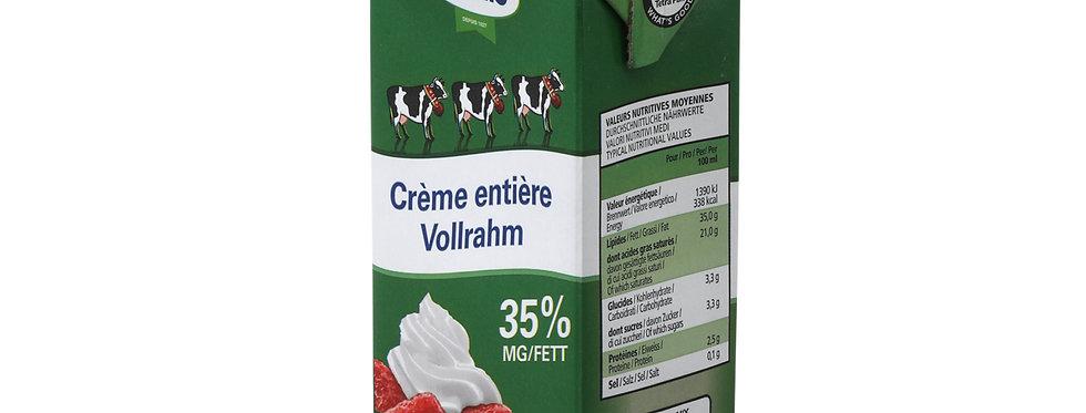 Crème entière 35% Cremo