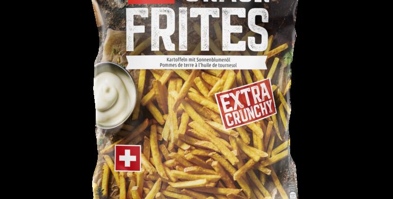 Frites au four crack suisse Findus 600g