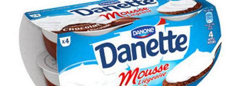 Dessert mousse liégeoise Danone 4 x 80g