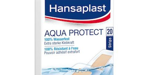 Pansements Aqua protect Hansaplast 20pces