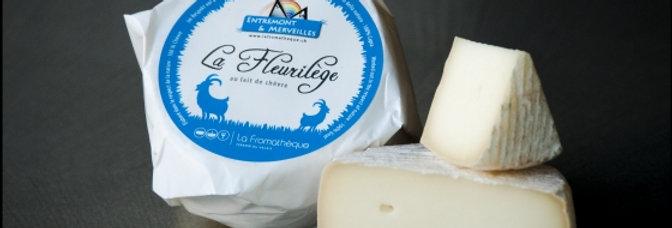 La Fromathèque - tomme fleurilège pur chèvre 150g