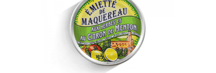 Emietté de maquereaux herbes et citron de Menton la belle-iloise 80g