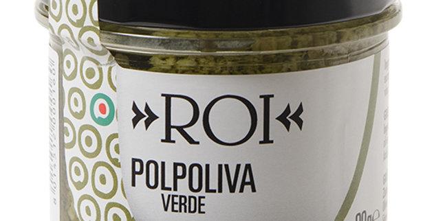 Purée d'olives vertes ROI 90g