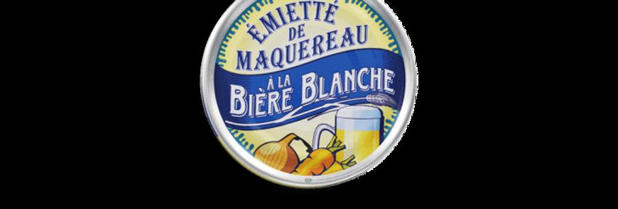 Emietté de maquereaux à la bière blanche la belle-iloise 80g