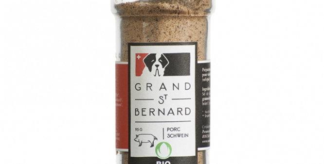 Assaisonnement porc bio Grand St Bernard 60g