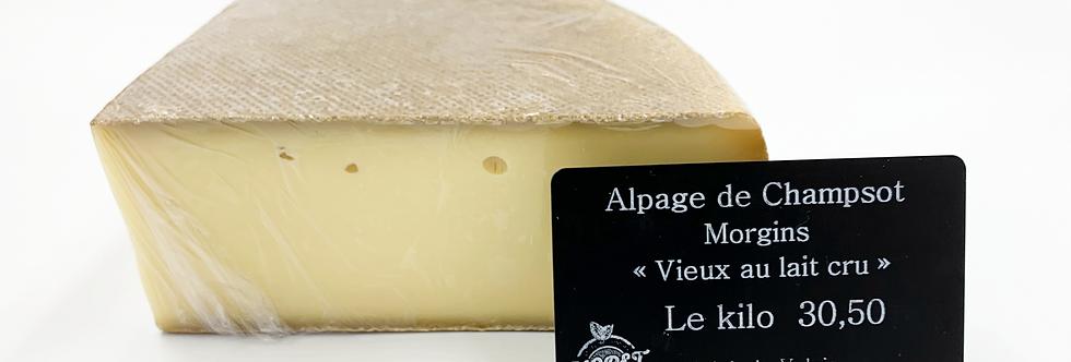Alpage Champsot, vieux au lait cru