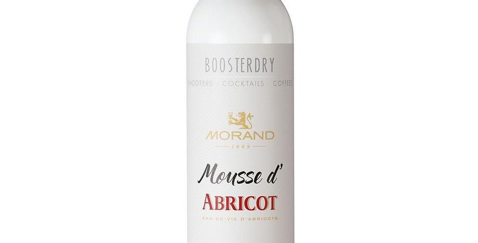 Mousse d'abricot boosterdry 20% Morand 35cl