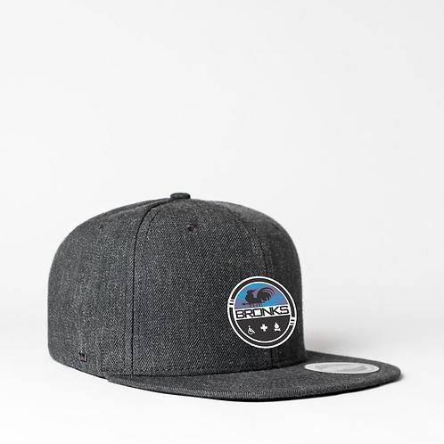 Cap Flat AF - OG Trucker DarkGrey