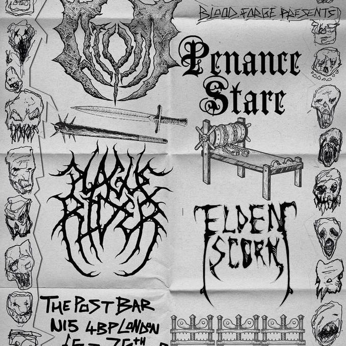 ATVM // PENANCE STARE // PLAGUE RIDER //ELDEREN SCAR