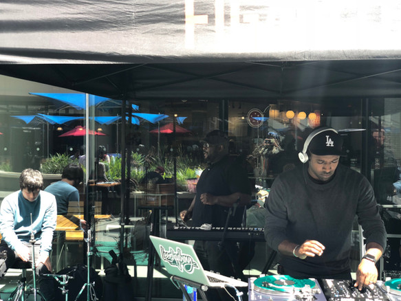 In the Zone at Sunday Funday Grooves