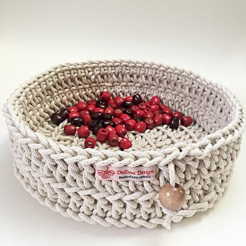 Large Round Rope Basket