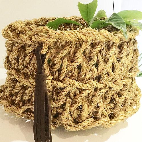 Manila Rope Basket