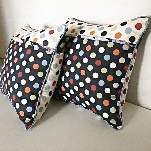 Dots and Butterflies Cushions
