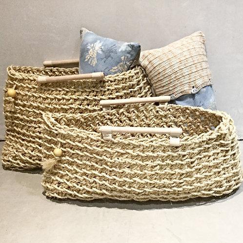 Large Sisal Rope Basket