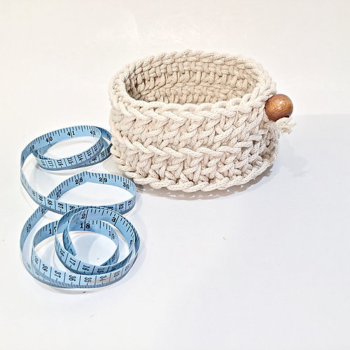 Small Round Rope Basket