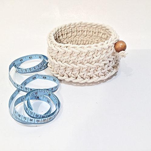 Small Round Rope Basket