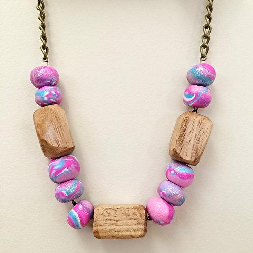 """Chloe"" Beaded Necklace"