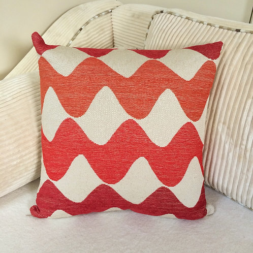 "Square ""Waves"" Cushion"