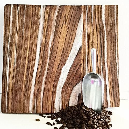 Zebra Wood Serving/Cutting/Display Board