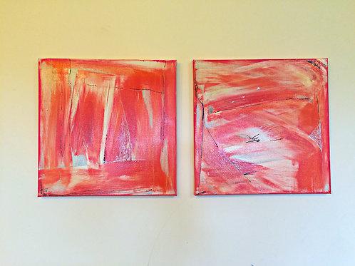 """Spring Joy 2"" Acrylic on Canvas"