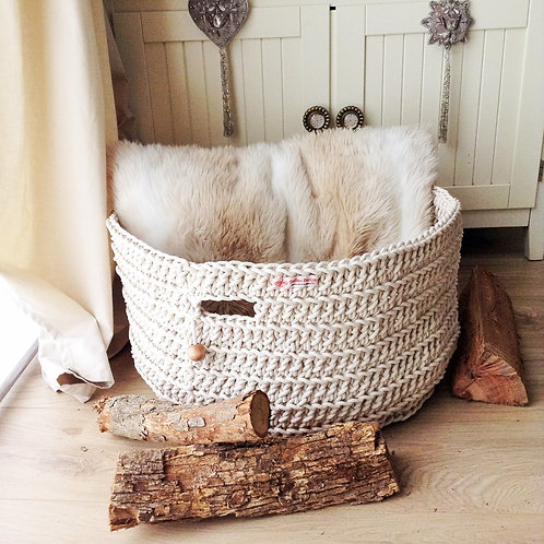 Extra Large Cotton Rope Basket