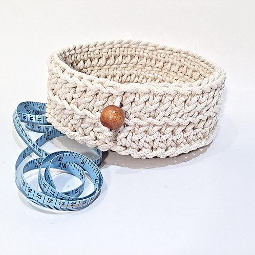 Medium Round Rope Basket