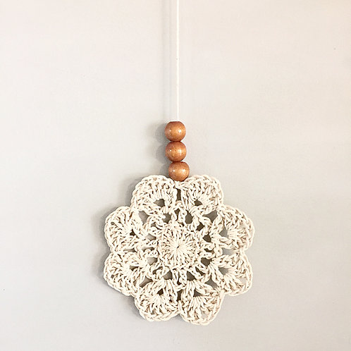 Cotton Flower Wall Hanging