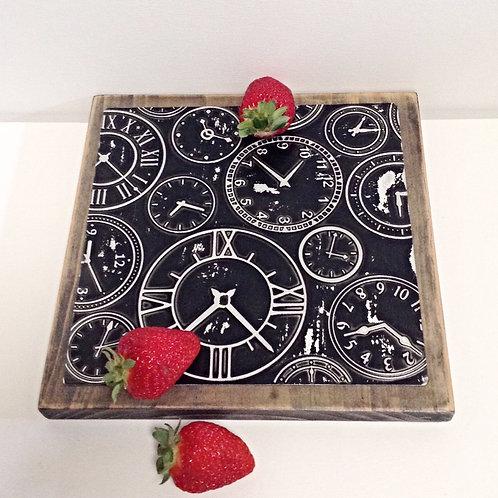 """""""Clock"""" Medium Breakfast/Serving Board"""
