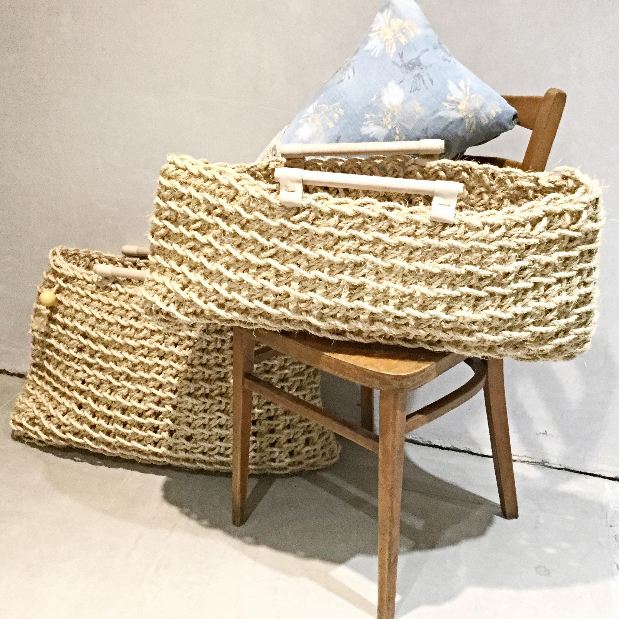 large sisal rope basket - Sisal Rope