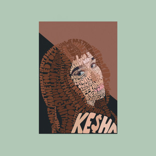kesha type portrait