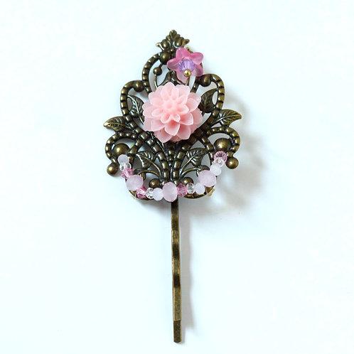 Barrette collection Anaïs, rose