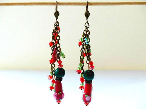Earrings - Cluster
