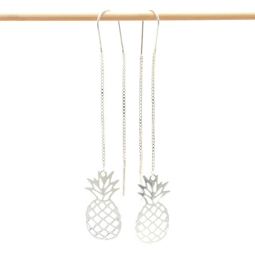 Jewelry, Earrings, 925 silver, Pineapple, E-shop, The Right to Be Happy, Paris