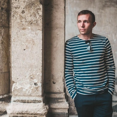Marinière, tee-shirt, coton, fait en Bretagne, Le chic français Boutique Les créateurs de saison, Paris