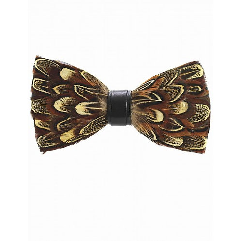 Noeud papillon, plume de faisan, Fabliot, Boutique Les créateurs de saison, Paris