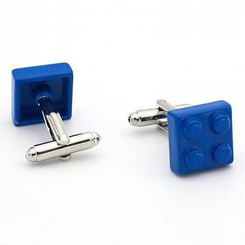 Boutons de manchette, Lego bleu, Une autre paire de manches, Boutique Les créateurs de saison, Paris
