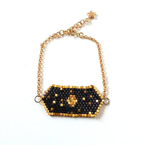Bracelet, collection Bayadère, black (EN)