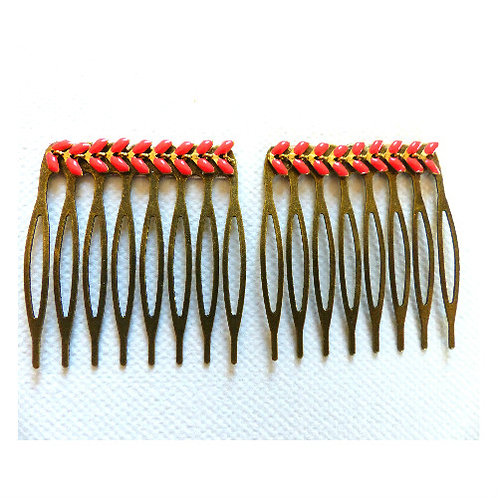 Hair clip /Combs of hair sold by 2, Florine